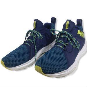 Puma Mens Blue Enzo Terrain Trail Running Shoes